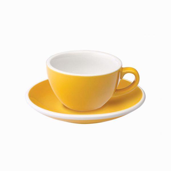 Taza Capuchino 150ml Yellow Loveramics