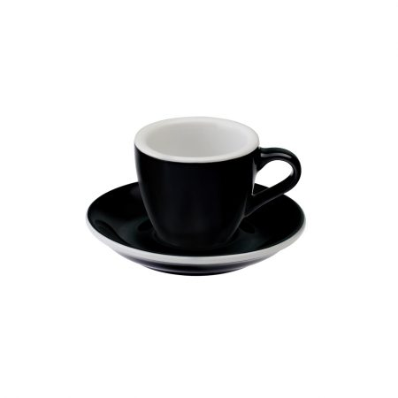 Taza Espresso 80ml Black Loveramics