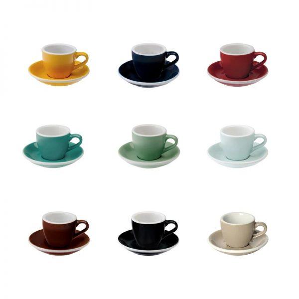 Taza Espresso 80ml Classic Colours Loveramics