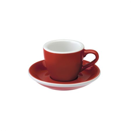 Taza Espresso 80ml Red Loveramics
