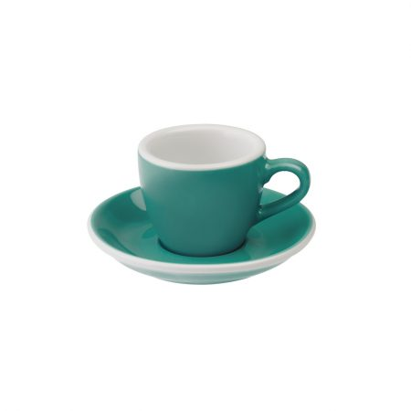 Taza Espresso 80ml Teal Loveramics