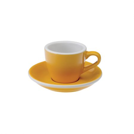 Taza Espresso 80ml Yellow Loveramics