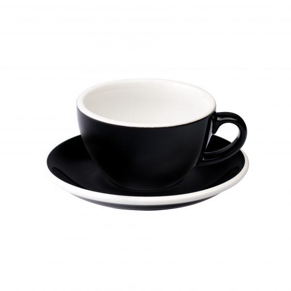 Taza Latte 200ml Black Loveramics