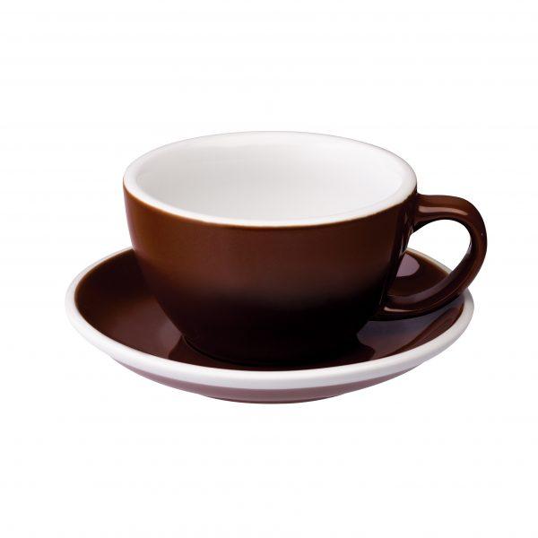 Tazas Grandes de Café Con Leche 300ml Brown Loveramics