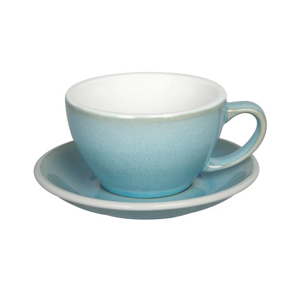 Tazas Grandes de Café Con Leche 300ml Ice Blue Loveramics