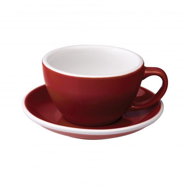 Tazas Grandes de Café Con Leche 300ml Red Loveramics