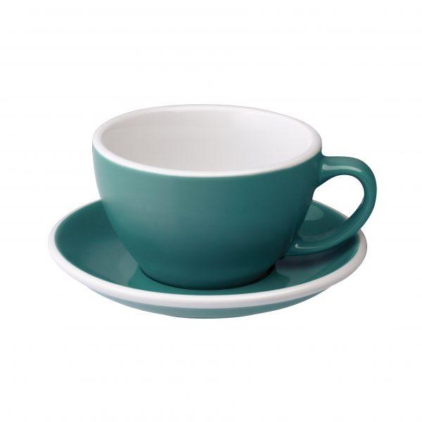 Tazas Grandes de Café Con Leche 300ml Teal Loveramics