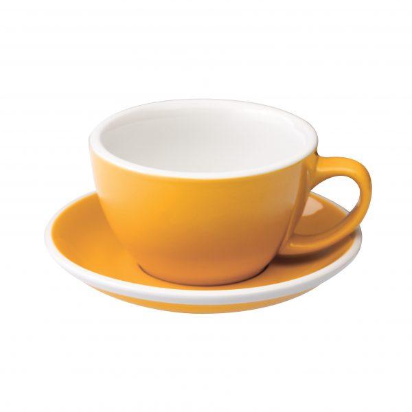 Tazas Grandes de Café Con Leche 300ml Yellow Loveramics